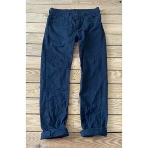 LEVI'S 510 Men's Black Straight Leg Jeans 31x32